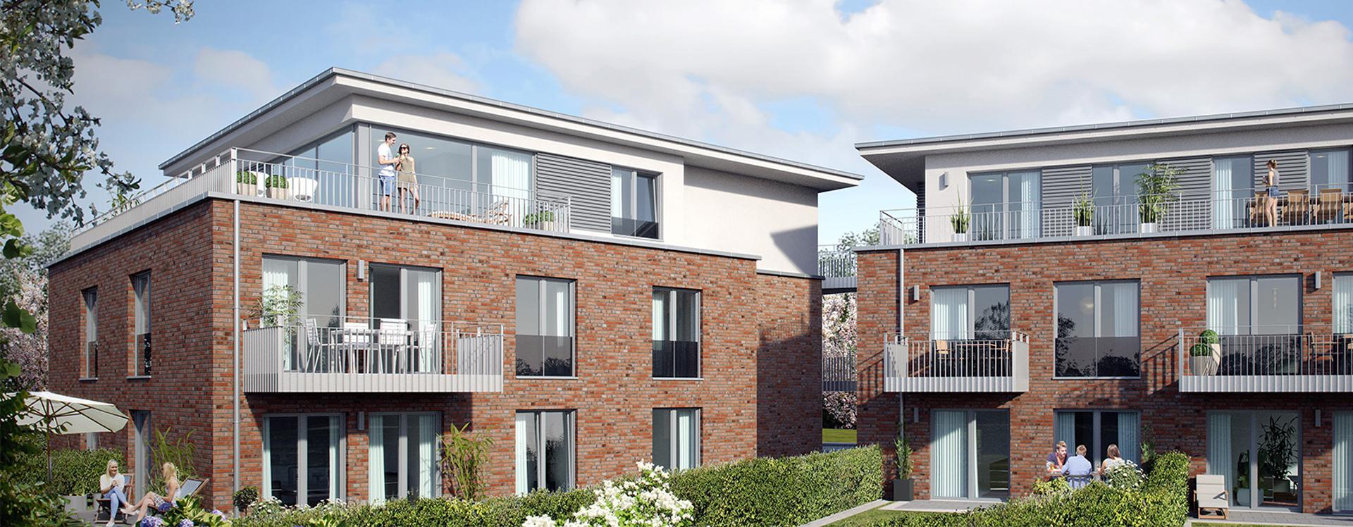 Moderne Neubauwohnungen
